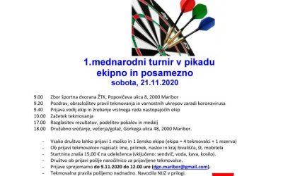 21.11.2020 Vabilo- pikado
