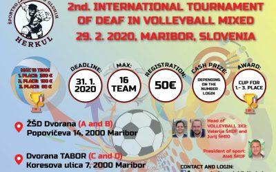 29.2.2020 Vabilo na 2. mednarodni turnir v futsalu
